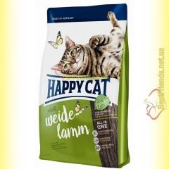 Happy Cat Supreme Weide Lamm корм для кошек с ягненком 10кг