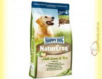 Купить Happy Dog NaturCroq Lamb & Rice корм для собак с чувствительным пищеварением 15кг