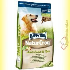 Happy Dog NaturCroq Lamb & Rice корм для собак с чувствительным пищеварением 15кг