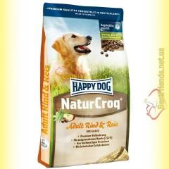 Happy Dog NaturCroq Rind & Reis корм для взрослых собак 15кг