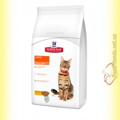 Hill's Science Plan Feline Adult Optimal Care Курица, для кошек 400гр