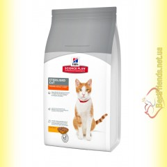 Hill's Science Plan Feline Young Adult Sterilised Cat Курица, для стерилизованных кошек