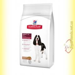 Hill's Science Plan Canine Adult Advanced Fitness Ягненок и Рис, для собак 12кг