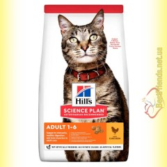 Hill's Science Plan Adult Cat with Chicken корм для кошек c Курицей