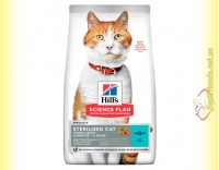 Купить Hill's Science Plan Sterilised Cat Young Adult корм для стерилизованных кошек с Тунцом