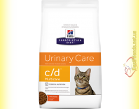 Купить Hill's Prescription Diet Feline c/d Multicare курица, для кошек 400гр