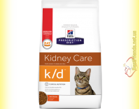 Купить Hill's Prescription Diet Feline k/d для кошек 1,5кг