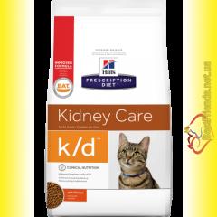 Hill's Prescription Diet Feline k/d для кошек 1,5кг