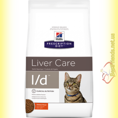 Hill's Prescription Diet Feline l/d для кошек 1,5кг
