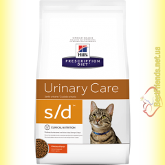 Hill's Prescription Diet Feline s/d для кошек 1,5кг