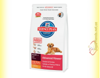 Купить Hill's Science Plan Canine Adult Advanced Fitness Large Breed с Курицей, для крупных собак 12кг
