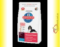 Купить Hill's Science Plan Canine Adult Advanced Fitness с Тунцом и Рисом, для собак 12кг