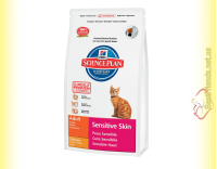 Купить Hill's Science Plan Feline Adult Sensitive Skin Курица, для кошек 400гр