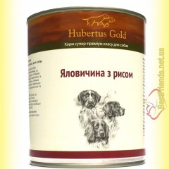 Hubertus Gold Говядина с рисом 800гр