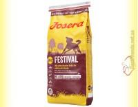 Купить Josera Festival для взрослых собак с лососем и рисом 15кг