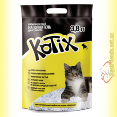 Kotix Силикагелевый наполнитель 3,8л