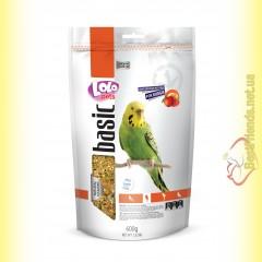 LoLo Pets basic for Budgie Полнорационный корм для Волнистых попугаев с фруктами