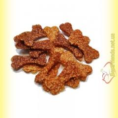 LoLo Pets Classic PAUSE snack Мясные косточки Курица с рисом 500гр