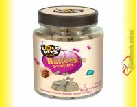 Купить LoLo Pets Classic Biscuits S Chocolate шоколадные бисквиты для собак 210гр