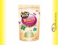 Купить LoLo Pets Classic Biscuits S Mint мятные бисквиты для собак 350гр