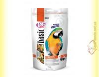 Купить LoLo Pets basic for Big Parrots Полнорационный корм для крупных попугаев 350гр
