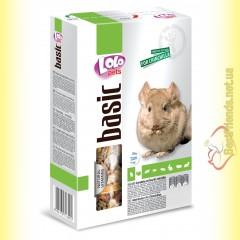 LoLo Pets basic for Chinchilla Полнорационный корм для шиншилл 1кг