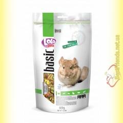 LoLo Pets basic for Chinchilla Полнорационный корм для шиншилл 600гр
