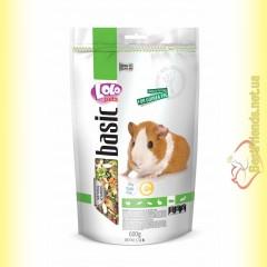 LoLo Pets basic for Guinea Pig Полнорационный корм для морской свинки 600гр