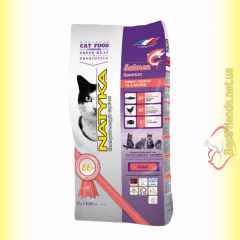 Natyka cats Adult Salmon 2кг