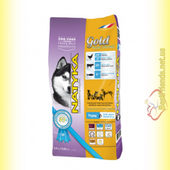 Natyka Gold Puppy&Small Dogs 4,5кг
