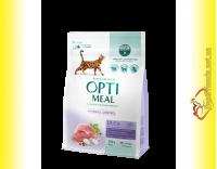 Купити Optimeal Hairball Duck для дорослих котів з ефектом виведення шерсті – Качка