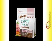 Купити Optimeal Grain Free Turkey Беззерновий корм для котів - Індичка та овочі