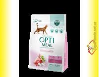 Купити Optimeal Sensitive Lamb для дорослих котів з чутливим травленням – Ягня