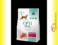 Купити Optimeal High in Veal для дорослих котів - Телятина