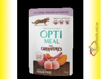 Купить Optimeal Grain Free with Lamb Беззерновой корм для взрослых кошек с Ягненком 85гр
