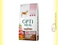 Купить Optimeal Grain Free беззерновой корм для собак - Индейка и овощи