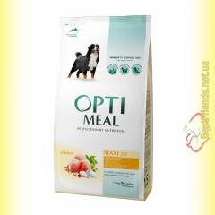 Optimeal Maxi для взрослых собак крупных пород - Курица