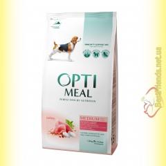 Optimeal Medium для взрослых собак средних пород - Индейка