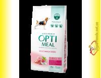 Купити Optimeal Adult Medium Breed для собак середніх порід - Індичка