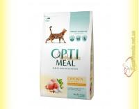 Купить Optimeal Chicken для взрослых кошек - Курица 4кг