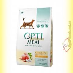 Optimeal Chicken для взрослых кошек - Курица 4кг