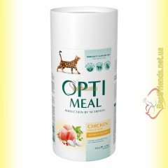Optimeal Chicken для взрослых кошек - Курица 650гр