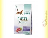 Купить Optimeal Duck для взрослых кошек - Утка 4кг