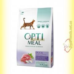 Optimeal Duck для взрослых кошек - Утка 4кг