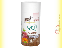 Купить Optimeal Grain Free беззерновой корм для собак - Утка и овощи 650+650гр