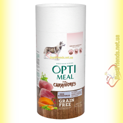 Optimeal Grain Free беззерновой корм для собак - Утка и овощи 650гр