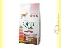 Купить Optimeal Grain Free беззерновой корм для собак - Индейка и овощи 1,5кг
