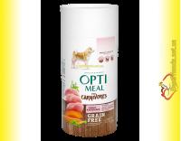 Купить Optimeal Grain Free беззерновой корм для собак - Индейка и овощи 650гр