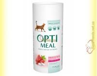 Купить Optimeal Hidh in Veal для взрослых кошек - Телятина 650+650гр