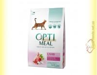Купить Optimeal Lamb для взрослых кошек - Ягненок 4кг